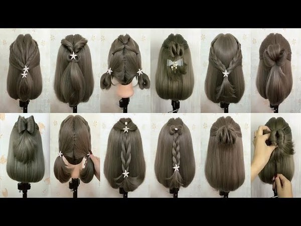 Simple beautiful hairstyle - Best hairstyle in the world | Braided hairstyle 2018