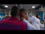 Футболисты Реала и Барселоны перед классико!