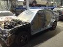 Наши работы по Hyundai Accent : Кузовные работы по передней части автомобиля. Полная покраска автомобиля с проёмами.