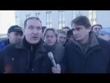 Репортаж с площади, где ничего не произошло (хорошее настроение, юмор, смешное видео, митинг, толпа, народ, интервью, люди).