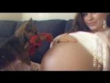 Беременная Megan Rain