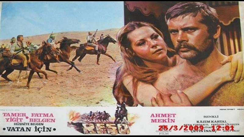 Reşo-Vatan İçin -Çetin İnanç1974 Tamer Yiğit, Fatma Belgen, Kazım Kartal, Ahmet Mekin