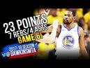 Kevin Durant Full Highlights 2018 WCF GM6 Golden State Warriors vs Rockets - 23-7-4 | FreeDawkins