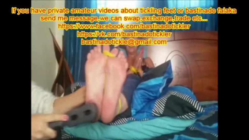 Amateur Private Girl or Boy Tickle Feet Bastinado Falaka Videos Trade exchange swap