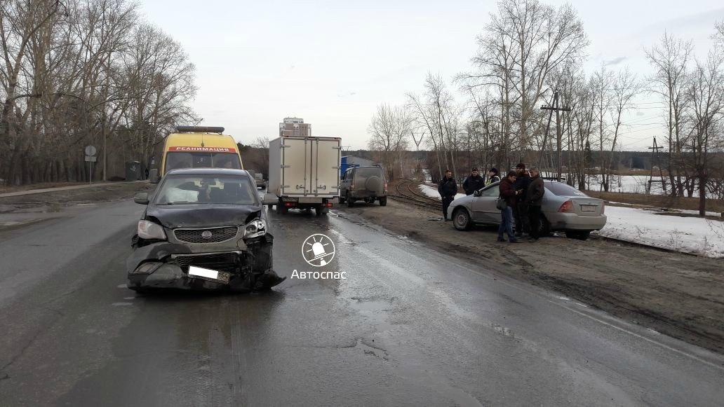 ДТП в Советском районе Новосибирска: пострадали три ребёнка