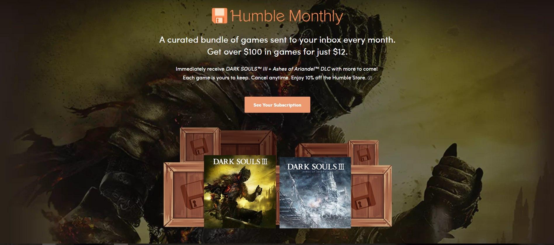 Это мартовский набор. 3-тий Dark Souls с дополнением и что бы вы понимали, в Российском Steam такой набор вам обойдётся в ~2 600 р.