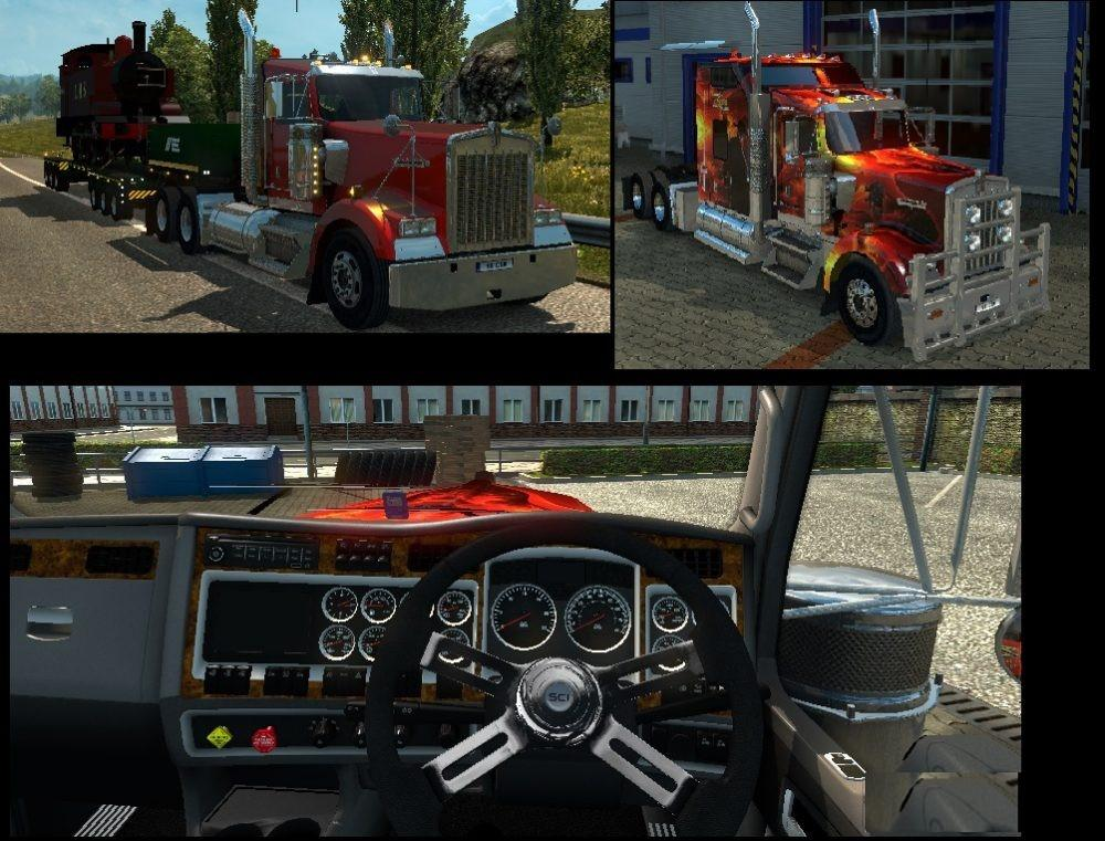KENWORTH W900 LEFT & RIGHT HAND DRIVE V1.0