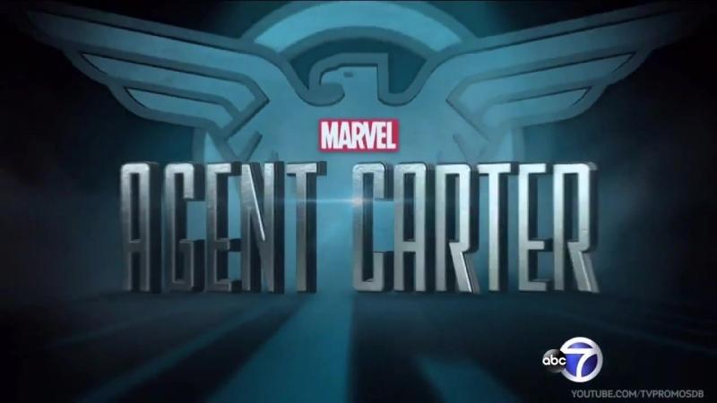 Агент Картер 2 сезон премьера ПРОМО трейлер HD
