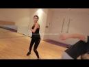 Beren Saat in action 1 Sezon dovus koreografi dersleri 2
