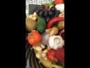 Фруктовое-овощной букет