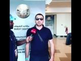 Дали небольшое интервью нашим ОАЭ журналистам! #Бабаюрт #Спорт #Наши_в_лицах Салим Зубаилов сегодня выйдет на татами.