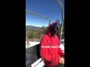 JAN 22 | Michael Trevino snowboarding with friend Robb Zbacnik at Bear Mountain | 👉 swipe for video | michaeltrevino