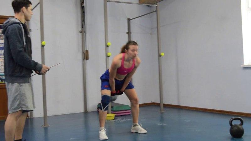 CrossFit-заруба в Феодосии 15.04.2018. Женщины А. 1 Задание