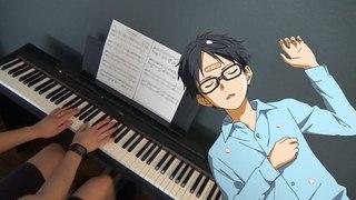 Shigatsu wa Kimi no Uso - Haru no Kaori - Piano