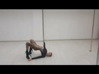 Exotic pole dance. Виолетта Яблокова.