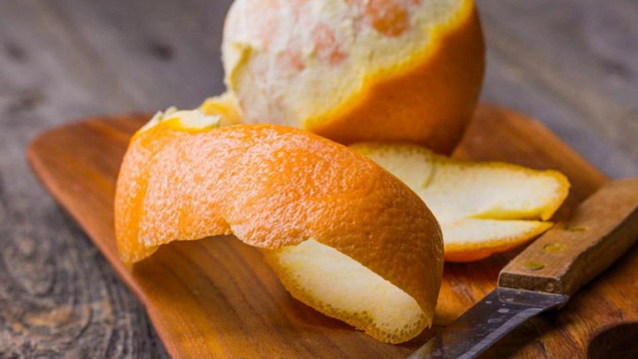 Как использовать кожуру апельсина?