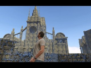 Bloodborne Early Prototype Of Upper Cathedral Ward in GTA V