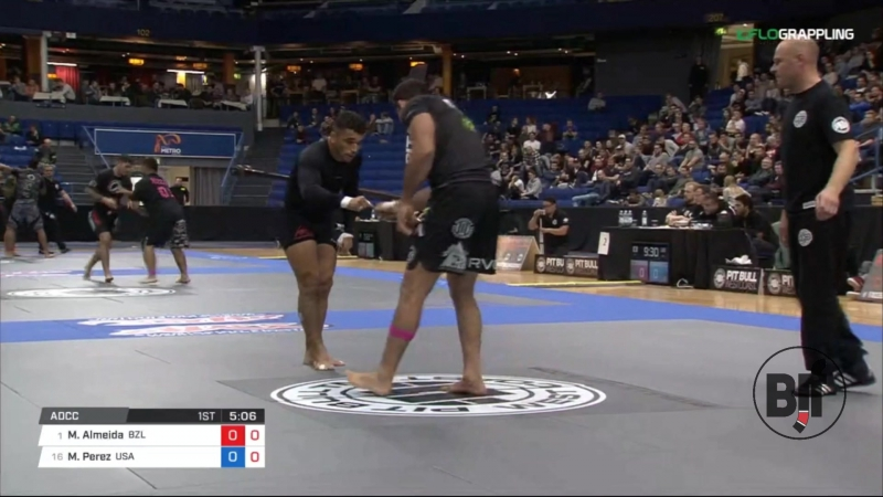 1Marcus Almeida vs Mike Perez absolute 1/16 finals ADCC17