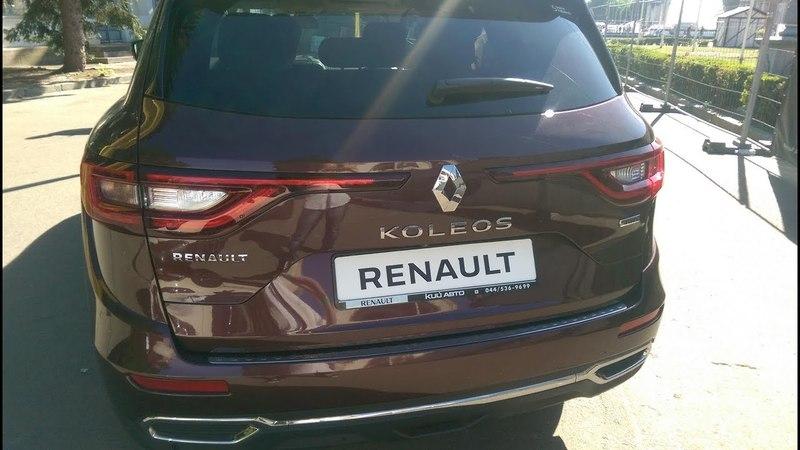 Новый Renault Koleos 2.0 dCi 177 л.с. 4x4-i Euro 6