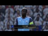 FIFA18 Проход и ассист Канте + Гол Мане