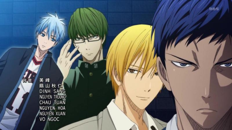 [AnimeOpend] Kuroko no Basuke (TV-1) 1 ED | Ending / Баскетбол Куроко (ТВ-1) 1 Эндинг (720p HD)