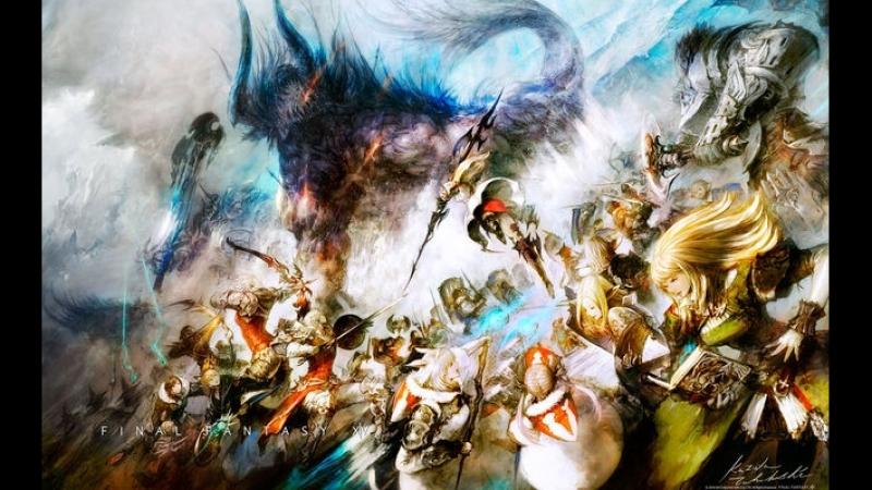 Final Fantasy XIV, ночной стрим, релакс в мире Эорзеи