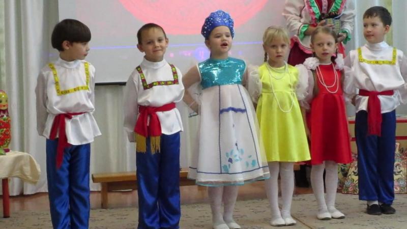 MVI 1529Мастер класс Русский сувенир в 95 детском саду г Омска