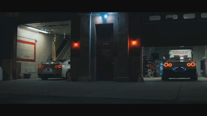 Bones - Sodium (Bass Boosted) Nissan GTR R35 Night City Drive
