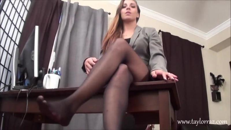 Sasha Foxx JOI HD POV sexy feet stocking pantyhose socks » Freewka.com - Смотреть онлайн в хорощем качестве