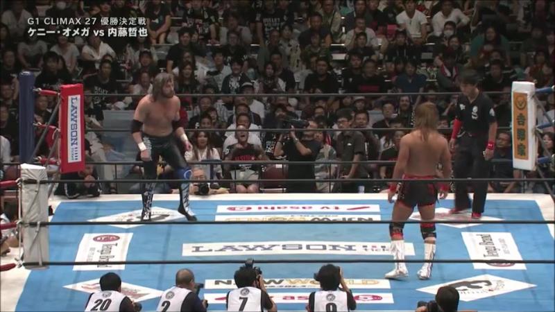G1 Climax 27 Final Tetsuya Naito vs Kenny Omega