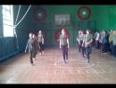 танец девочек Обаяние границы на конкурсе Смотр строя и песни