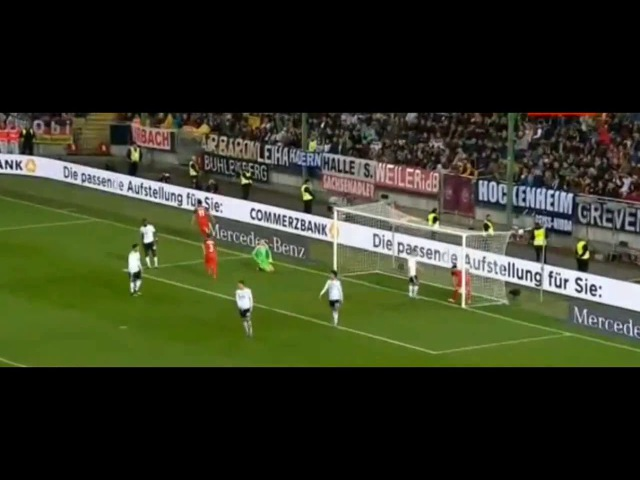 Всем футбол. Гол Рамиля Шейдаева в ворота Германии!