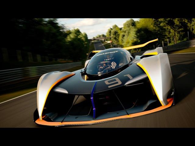 McLaren Ultimate Vision Gran Turismo Unveiled