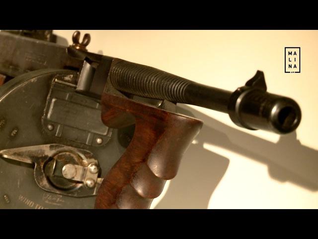 «За скорострельность пистолет-пулемёт Томпсона прозвали «чикагской пишущей машинкой»