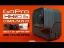 GoPro HERO 6 vs HERO 5 Yi 4K Sony FDR X3000 and iPhone 8 In Depth Review 4K