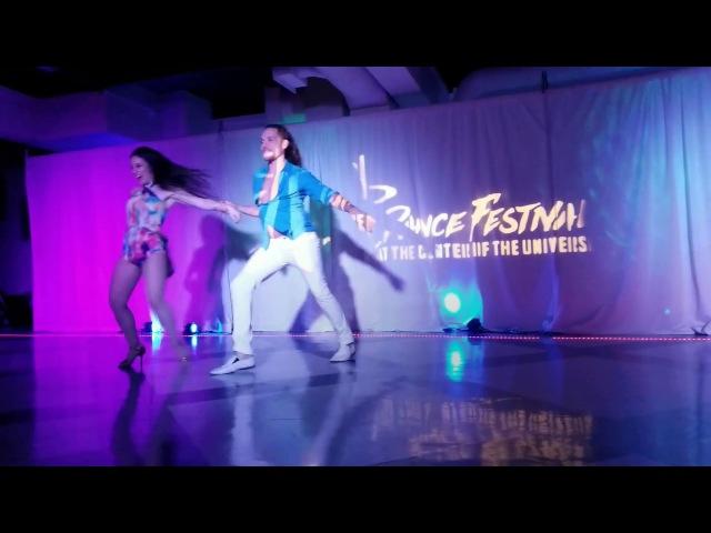 Ry'el Zenzouk Jessica Lamdon Nha Alma (In The Soul) Lambada Zouk Routine Seattle Dance Festival 20