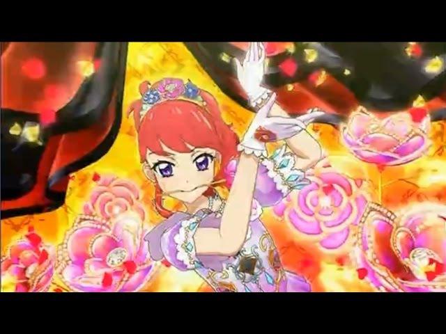 (HD)Aikatsu! -「Passion flower」 (Episode 110) アイカツ Ep 110 紅林 珠璃