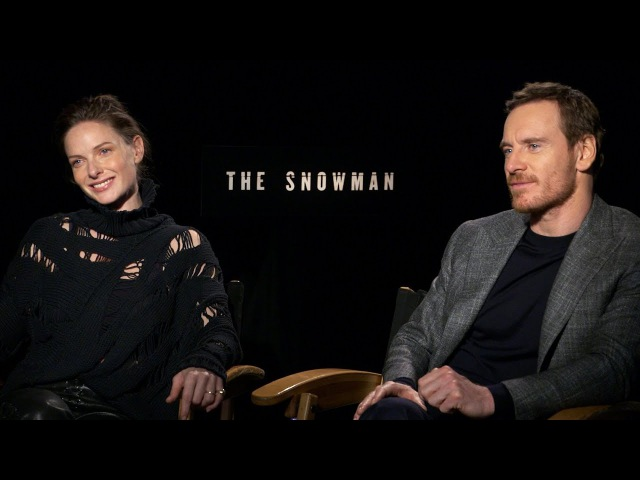 'The Snowman' Fassbender and Rebecca Ferguson Interview