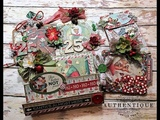 Authentique Jingle Tag Ornament Gift Card Holder Tutorial and project share