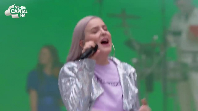 Clean Bandit - 'Rock-A-Bye feat Anne-Marie Sean Paul' (live at Capital's Summertime Ball 2018)