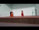 14.07.18. Дуэт индия. Трубицына Олеся и Нина Колпачева. Отчетный концерт школы восточного танца Зафира.
