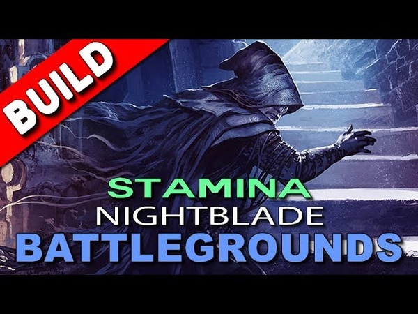 ESO - Stamina Nightblade PVP DPS Build - Battlegrounds, Imperial City No CP - Elder Scrolls Online