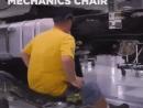 Специальное кресло для автомеханика 🛠💯