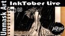 InkTober 2017 Day 13 Teeming
