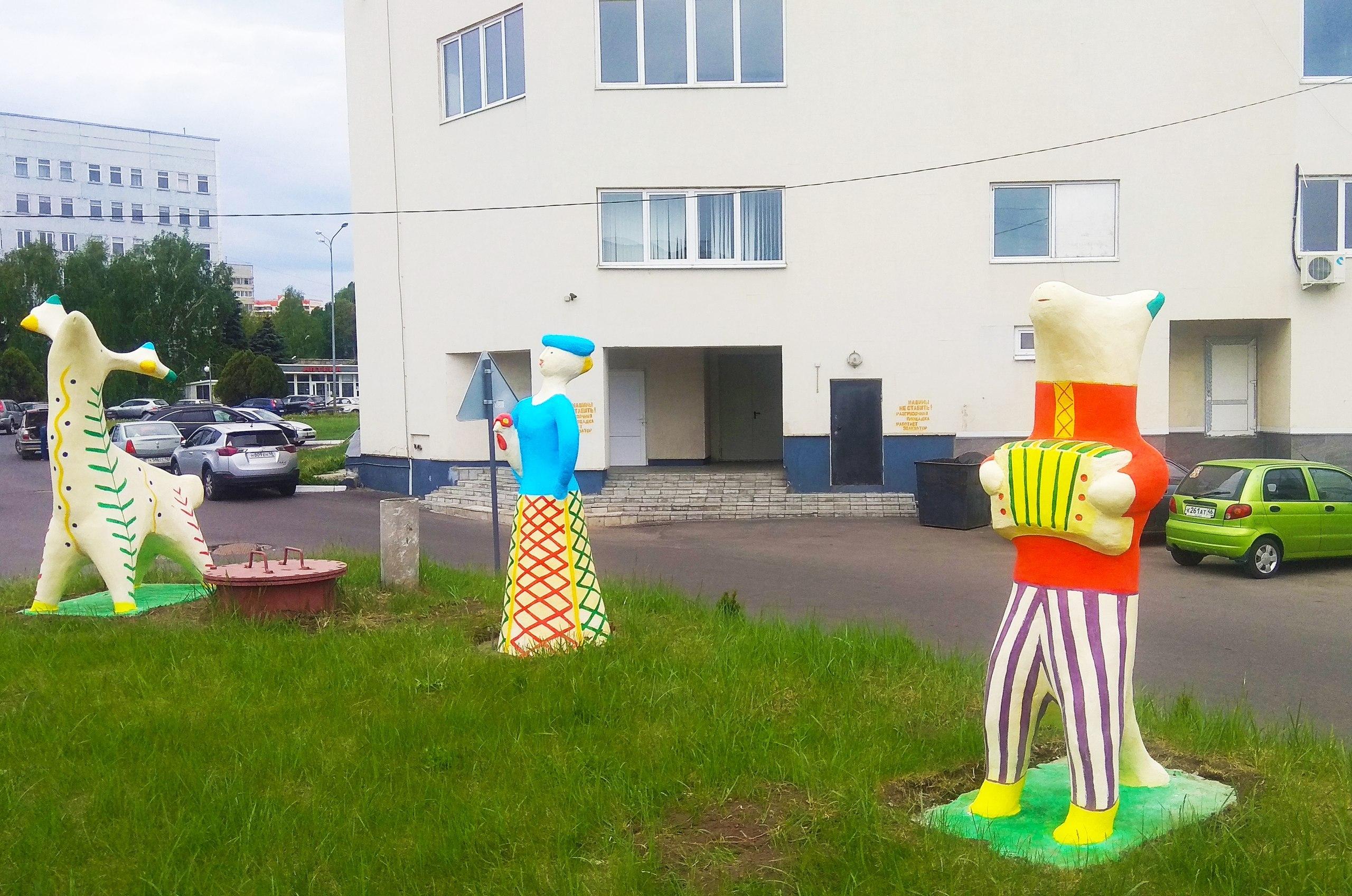 В Курчатове откроют музей кожлянской игрушки под открытым небом