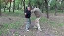 Короткая защита. Удар в живот ч.2