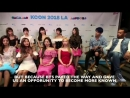 Twice talking about bts gave them an opportunity to promote k-pop in usa