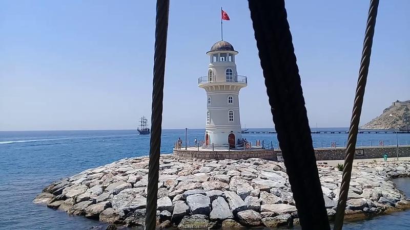 Яхта Big Kral, порт г.Алания. Турция июнь 2018г.