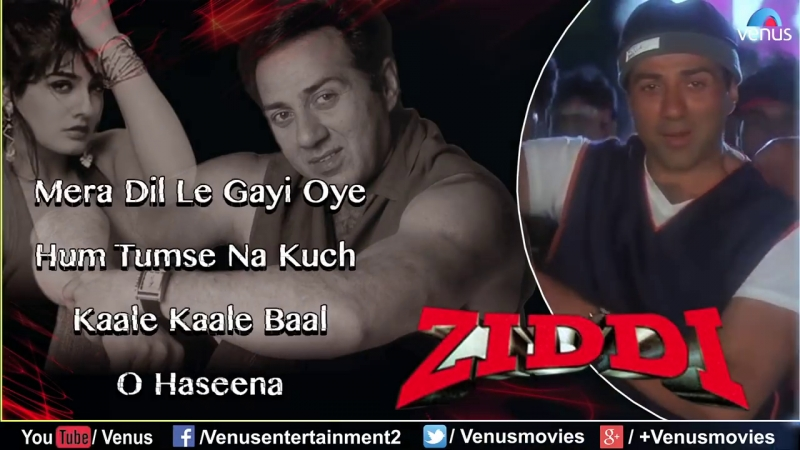 Ziddi Full Hindi Songs Sunny Deol Raveena Tandon
