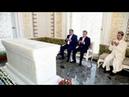Эмомали Рахмон в Самарканде посетил мавзолей Ислама Каримова